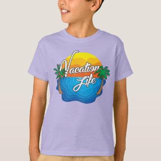 Tshirts T das férias dos miúdos