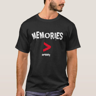 Tshirts T das memórias