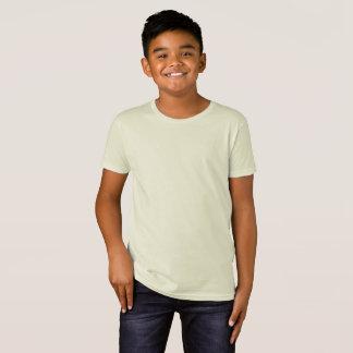 Tshirts T orgânico personalizado do roupa americano das