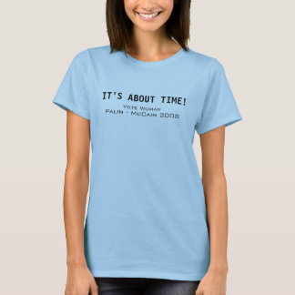 Tshirts T republicano - mulher do voto - Palin McCain 2008