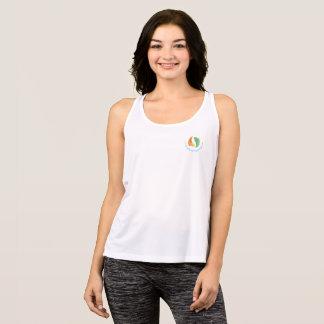 Tshirts Tanque do esporte do bem-estar de JG - logotipo