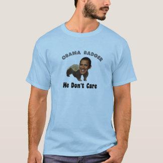 Tshirts Texugo Obama de Obama político