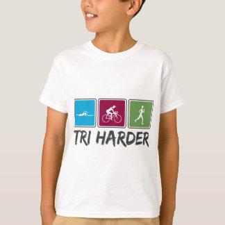Tshirts Tri mais duro (Triathlon)