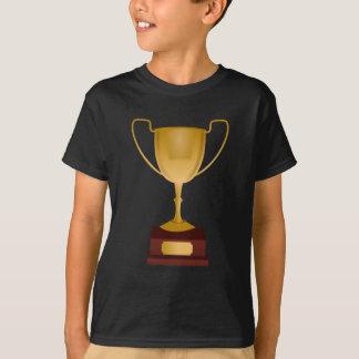 Tshirts Troféu - prêmio do copo do ouro - vencedor,