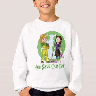 Tshirts Vai o verde com mindinho e o amendoim