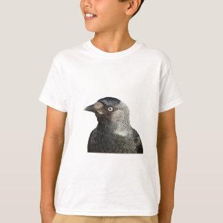 Tshirts Vetor do retrato do pássaro do Jackdaw