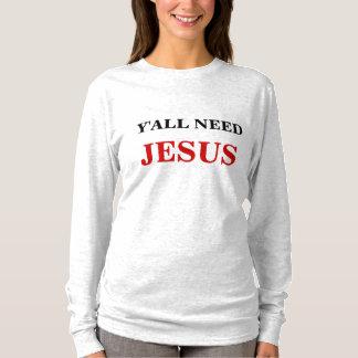 TSHIRTS VOCÊ PRECISA JESUS