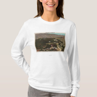 Tshirts Wenatchee, o olho de WABird do rancho no vale