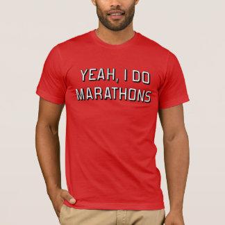 Tshirts Yeah, eu faço maratonas