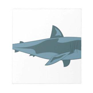 Tubarão Bloco De Anotação