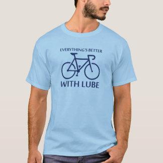 Tudo é melhor com lubrificante tshirt