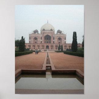 Túmulo de Humayun Deli India Posteres