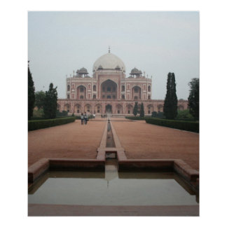 Túmulo de Humayun Deli India Pôsteres