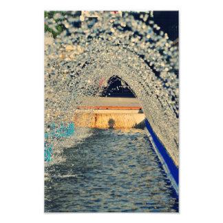 Túnel de água impressão fotográficas