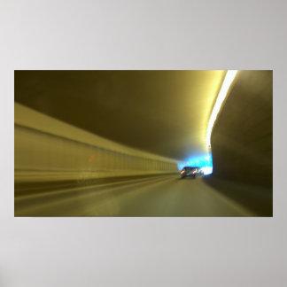 Túnel do carro posters