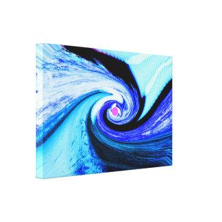 Túnel do tempo impressão em canvas