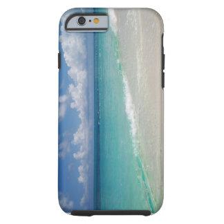 Turcos e caso do iPhone 6 da praia de Caicos Capa Tough Para iPhone 6