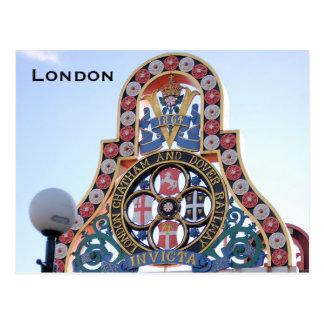 Turismo do viagem de Londres do vintage Cartão Postal