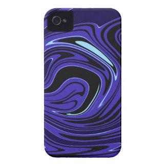 Turnado azul capas iPhone 4 Case-Mate