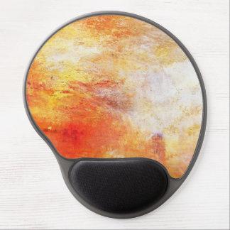 Turner Sun que ajusta-se sobre uma paisagem do Mouse Pad Em Gel