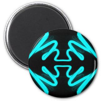 Turquesa do néon da arte & do design de CricketDia Ima