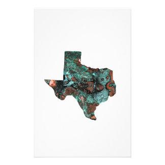 Turquesa rústica Texas Papelaria