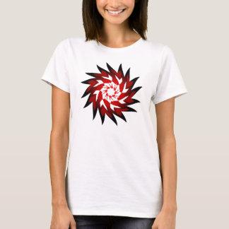 Twirl vermelho do SciFi de Mstar Camiseta