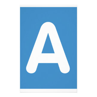 Twitter Emoji - Letter A Papelaria
