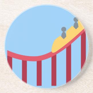 Twitter Emoji - Roller coaster Porta Copos De Arenito