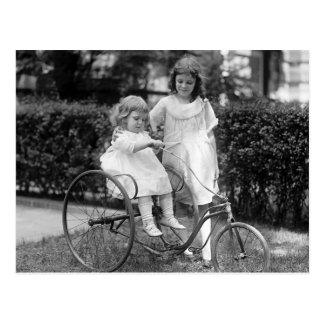 Tyke em Trike, 1920 Cartão Postal