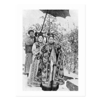 Tz'u seu (1835-1908) Dowager de imperatriz de Cartão Postal