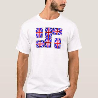 U.K. Cartões e dominó do ás Camiseta