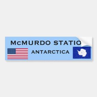 U.S. - Autocolante no vidro traseiro de McMurdo a Adesivo Para Carro