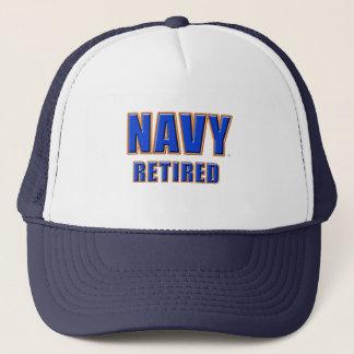 U.S. Chapéu aposentado marinho do camionista Boné