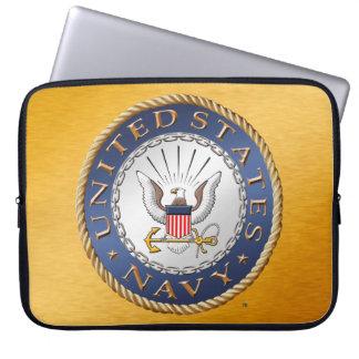 U.S. Saco dos eletrônicos do marinho Capas Para Computadores
