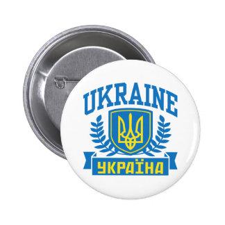 Ucrânia Bóton Redondo 5.08cm