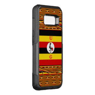 Uganda a pérola de África Capa OtterBox Commuter Para Samsung Galaxy S8+