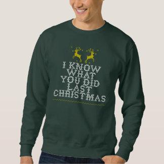 Últimas camisolas feias do Natal Moletom
