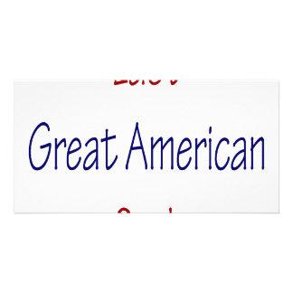 Último grande cozinheiro americano cartão com fotos