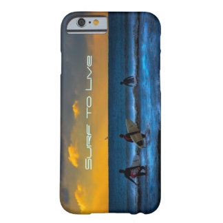 Último surf do dia capa barely there para iPhone 6