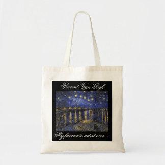Um agradável meu do artista saco de bolsa favorito