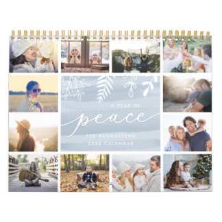 Um ano da paz | 2018 calendários da foto
