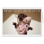 Um cartão para pais novos