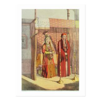 Um casamento judaico, gravado por Parsons de Cartão Postal