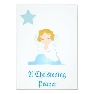 Um convite da oração do batismo - personalize