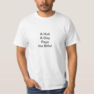 Um cubo um o dia camiseta