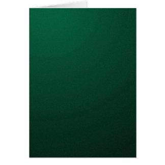 (Um design verde escuro com se desvanece) ~ Cartão Comemorativo