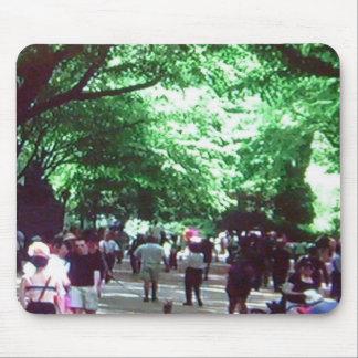 Um dia de verão no Central Park, mousepad