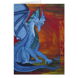 Um dragão sem um nome cartoes