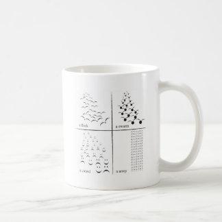 um exército caneca de café